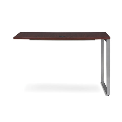 OFM Fulcrum Series 48x24 Return Desk, Office Desk Return, Mahogany (CL-R4824-MHG) ; UPC: 845123097373 ; Image 3