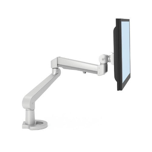 HON H5210 Accessories Single Monitor Arm In Silver ; UPC: 020459084147