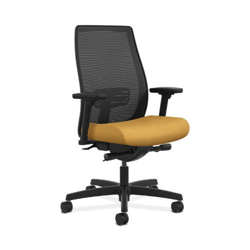 HON Endorse Mesh Mid-Back Task Chair in Mustard ; UPC: 889218153995