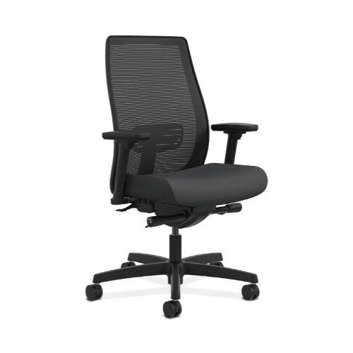 HON Endorse Mesh Mid-Back Task Chair in Carbon ; UPC: 889218154237