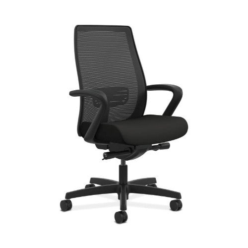HON Endorse Mesh Mid-Back Task Chair in Black ; UPC: 888852821703