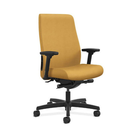 HON Endorse Mid-Back Task Chair in Mustard ; UPC: 889218155302