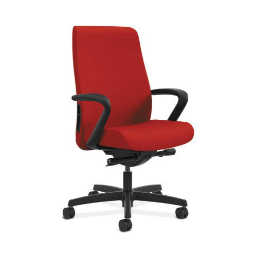 HON Endorse Mid-Back Task Chair in Tomato ; UPC: 889218155753