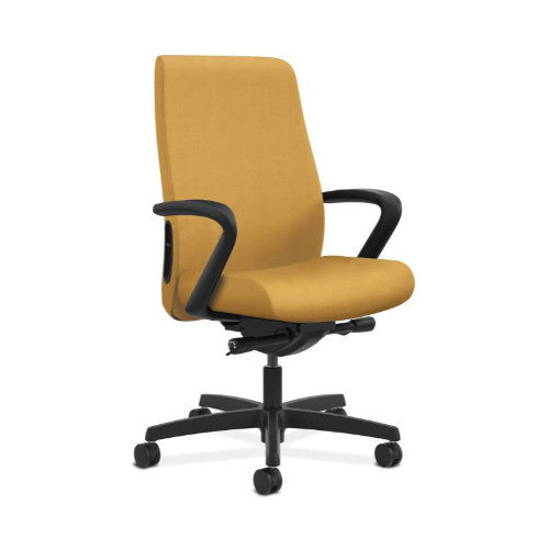 HON Endorse Mid-Back Task Chair in Mustard ; UPC: 889218155814