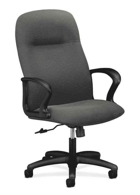 HON Gamut Executive High-Back Chair HON2071AB12T, Gray (UPC:641128932424)