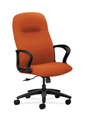 HON Gamut Executive High-Back Chair HON2071CU46T, Orange (UPC:752856638011)