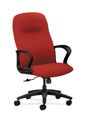 HON Gamut Executive High-Back Chair HON2071CU66T, Red (UPC:089191729327)