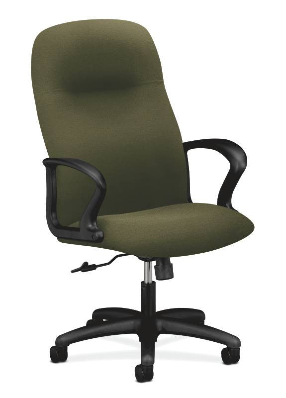 HON Gamut Executive High-Back Chair HON2071CU82T, Green (UPC:089192203970)