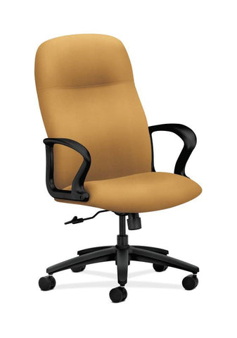 HON Gamut Executive High-Back Chair HON2071NR26T, Yellow (UPC:0)