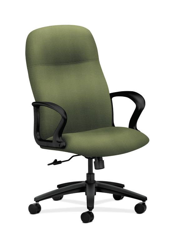 HON Gamut Executive High-Back Chair HON2071NR74T, Green (UPC:881728632991)