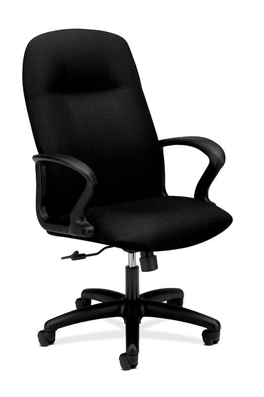HON Gamut Executive High-Back Chair HON2071NT10T, Black (UPC:089191961710)