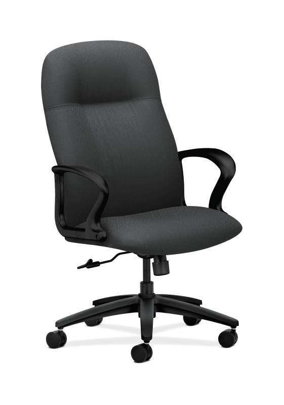 HON Gamut Executive High-Back Chair HON2071NT19T, Black (UPC:089191961727)