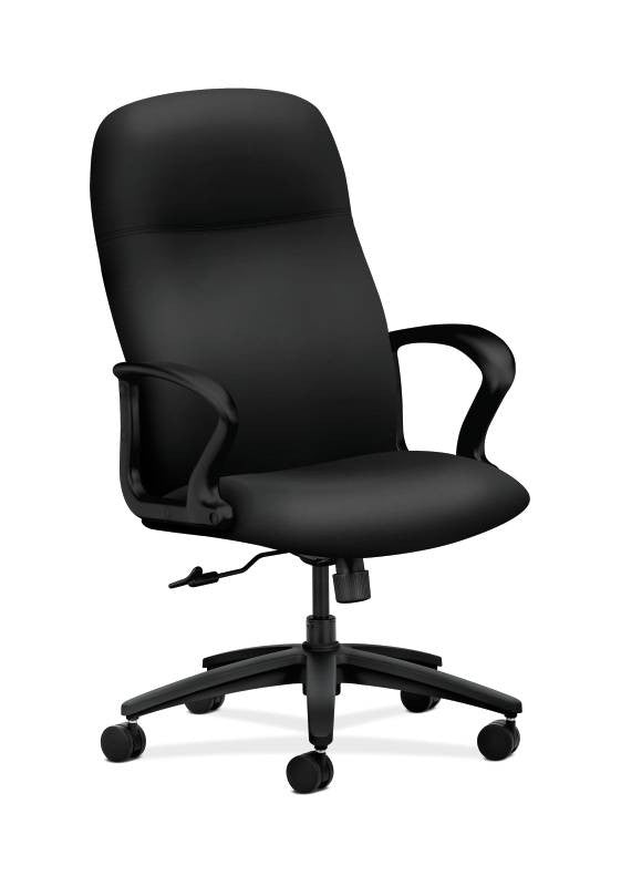 HON Gamut Executive High-Back Chair HON2071UR10T, Black (UPC:089191437444)