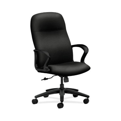 HON Gamut Executive High-Back Chair in Black ; UPC: 631530561428