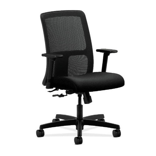 HON Ignition Low-Back Mesh Task Chair in Black ; UPC: 089191573838