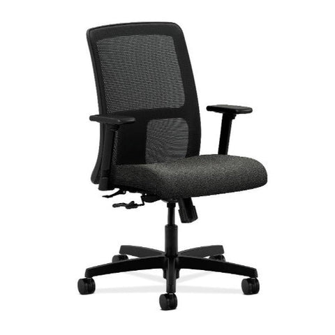 HON Ignition Low-Back Mesh Task Chair in Gray ; UPC: 089192486762