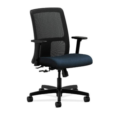 HON Ignition Low-Back Mesh Task Chair in Blue ; UPC: 089192096336