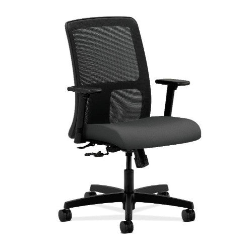HON Ignition Low-Back Mesh Task Chair in Iron Ore ; UPC: 745123163460