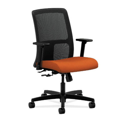 HON Ignition Low-Back Mesh Task Chair in Tangerine ; UPC: 752856557206