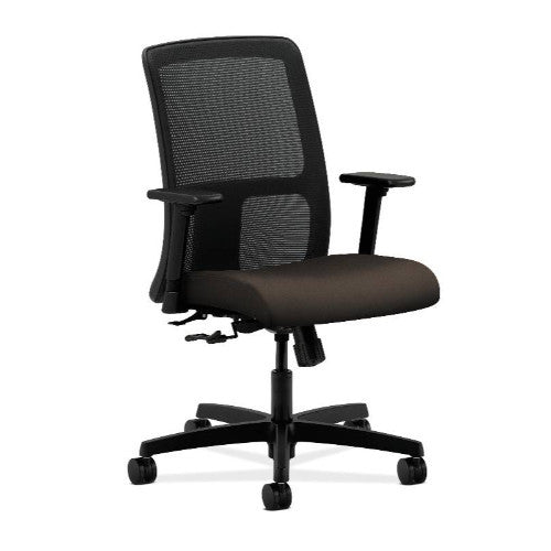 HON Ignition Low-Back Mesh Task Chair in Espresso ; UPC: 791579432124