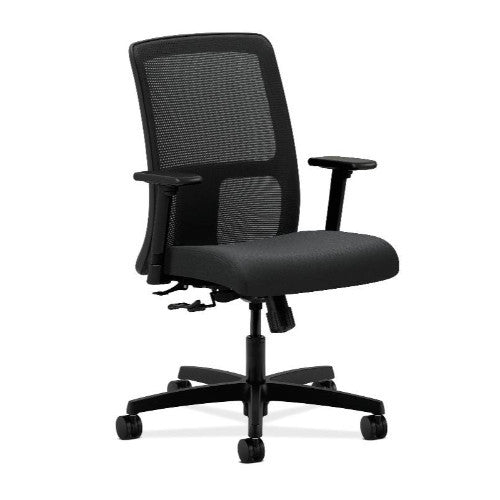 HON Ignition Low-Back Mesh Task Chair in Charcoal ; UPC: 641128671705