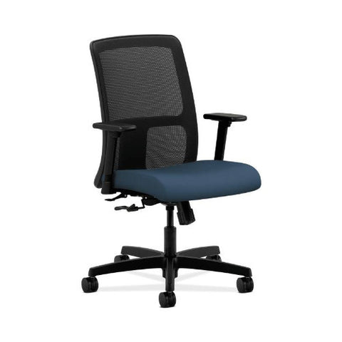 HON Ignition Low-Back Mesh Task Chair in Jet ; UPC: 791579904539