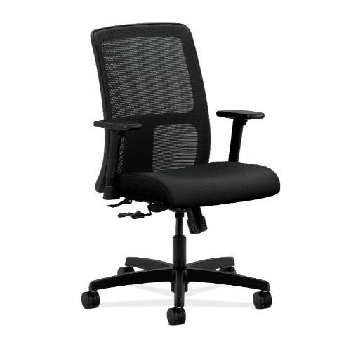 HON Ignition Low-Back Mesh Task Chair in Black ; UPC: 631530220448