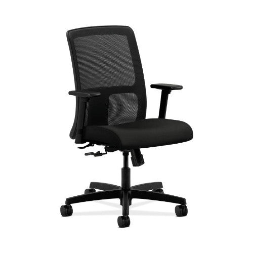 HON Ignition Low-Back Mesh Task Chair in Black ; UPC: 089191971191