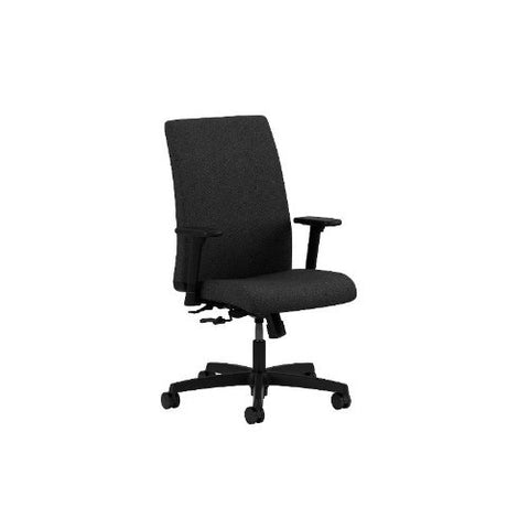 HON Ignition Low-Back Task Chair in Black ; UPC: 089191700180