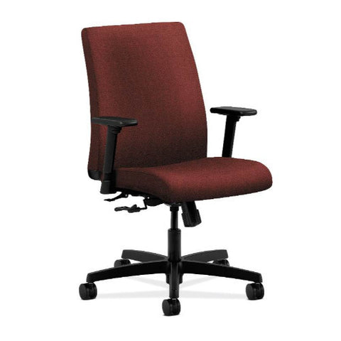 HON Ignition Low-Back Task Chair in Burgundy ; UPC: 089192146697