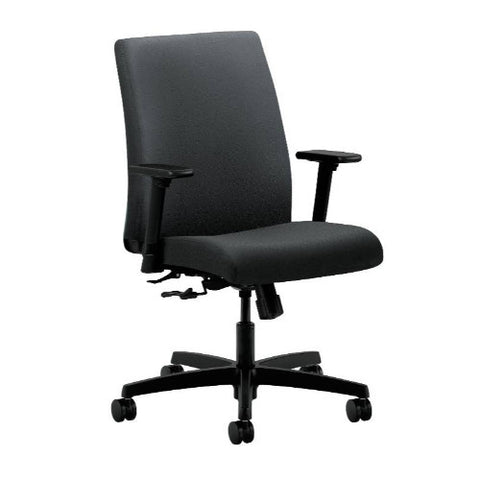 HON Ignition Low-Back Task Chair in Charcoal ; UPC: 089191184904