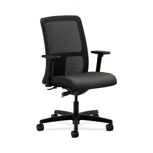 HON Ignition Low-Back Mesh Task Chair in Gray ; UPC: 035349062402