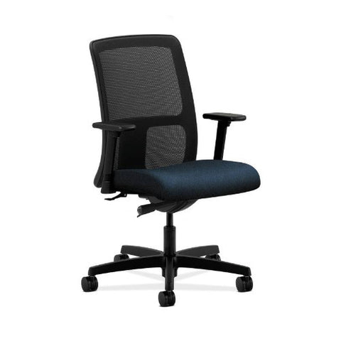 HON Ignition Low-Back Mesh Task Chair in Blue ; UPC: 782986336914