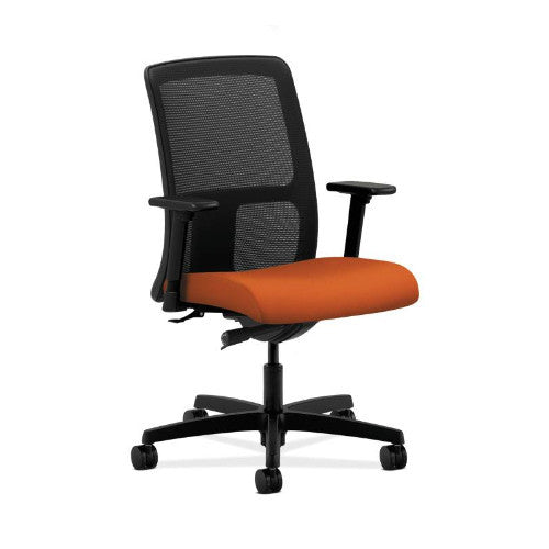 HON Ignition Low-Back Mesh Task Chair in Tangerine ; UPC: 752856084979