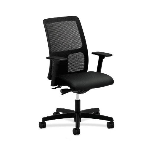 HON Ignition Low-Back Mesh Task Chair in Black ; UPC: 089192028610