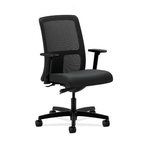 HON Ignition Low-Back Mesh Task Chair in Charcoal ; UPC: 631530672483