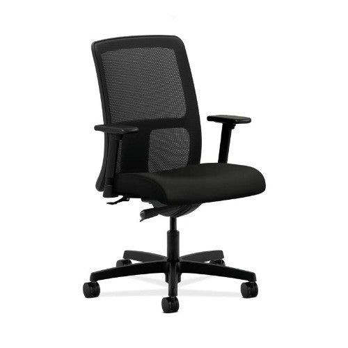HON Ignition Low-Back Mesh Task Chair in Black ; UPC: 089191374145
