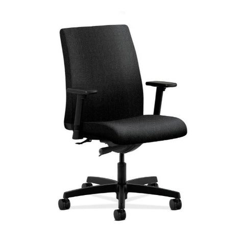 HON Ignition Low-Back Task Chair in Black ; UPC: 089192037773