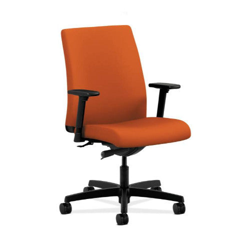 HON Ignition Low-Back Task Chair in Tangerine ; UPC: 889218834146