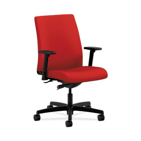 HON Ignition Low-Back Task Chair in Tomato ; UPC: 089192076772