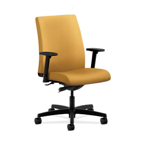 HON Ignition Low-Back Task Chair in Mustard ; UPC: 889218834153