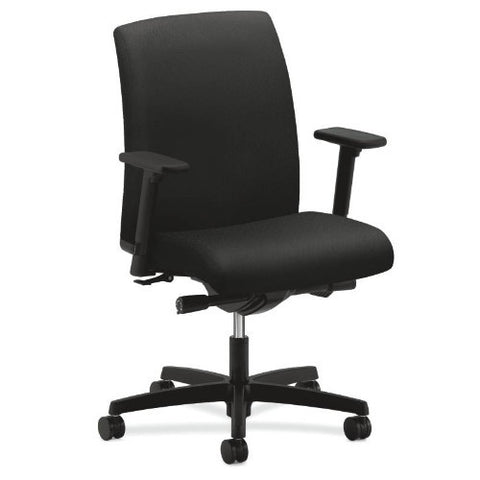 HON Ignition Low-Back Task Chair in Black ; UPC: 089191217794