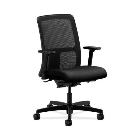 HON Ignition Low-Back Mesh Task Chair in Black ; UPC: 089192071555