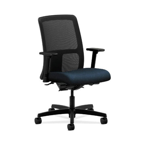 HON Ignition Low-Back Mesh Task Chair in Blue ; UPC: 745123630481