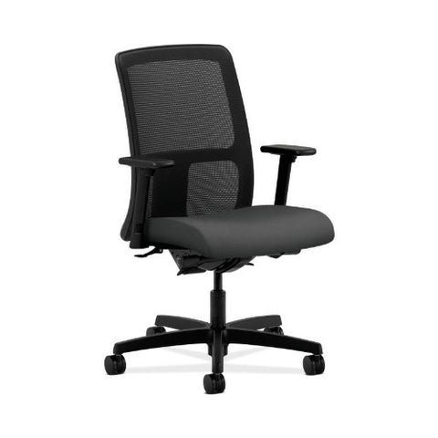 HON Ignition Low-Back Mesh Task Chair in Iron Ore ; UPC: 631530785053