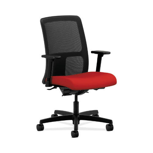 HON Ignition Low-Back Mesh Task Chair in Tomato ; UPC: 631530818355