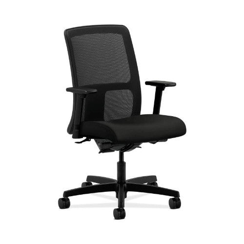 HON Ignition Low-Back Mesh Task Chair in Black ; UPC: 089191453925