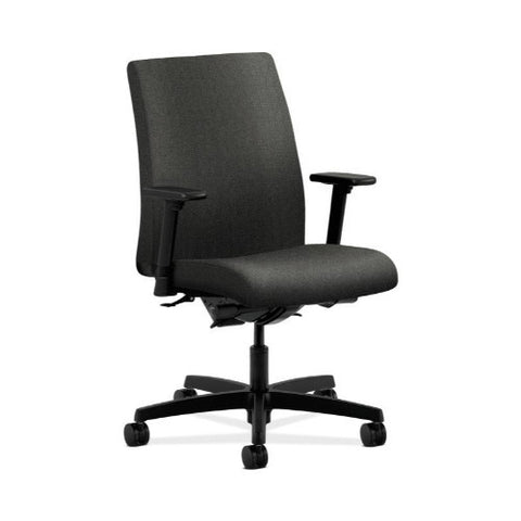 HON Ignition Low-Back Task Chair in Gray ; UPC: 089191979203