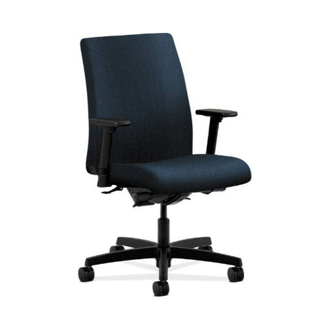 HON Ignition Low-Back Task Chair in Blue ; UPC: 089192815289