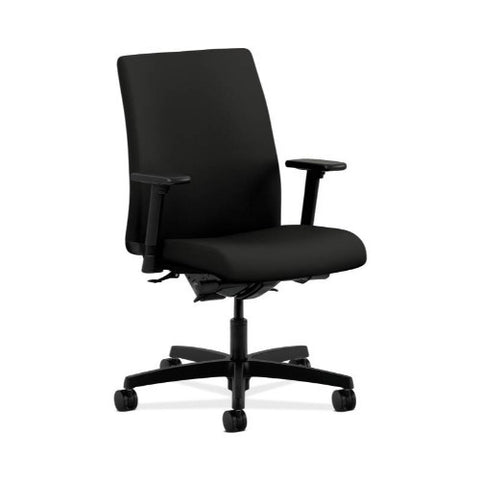 HON Ignition Low-Back Task Chair in Black ; UPC: 089191396147
